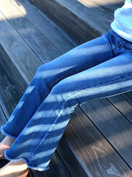 blue Jeans  Piro  Boot-cut Jeans - Dameklær er billig